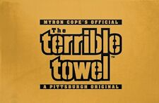 NEW! The Original Pittsburgh Steelers Gold Terrible Towel Myron Cope's Official