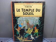BD Tintin le temple du soleil
