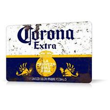 METAL TIN SIGN CORONA BEER LOGO RUSTED #2 Decor Home Bar Pub Garage Wall Poster