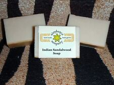 Homemade Soap  INDIAN SANDALWOOD Handmade *Sundance Soapery* Amazing