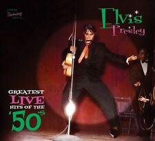 ELVIS PRESLEY - OOP  GREATEST LIVE HITS OF THE 50'S - NEW 2012 sealed CD