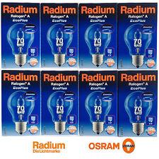 2x Osram Radium Halogen Ralogen A EcoPlus Sparbirne  Lampe 70W E27 Glühbirne