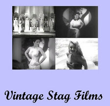 Vintage Risque Burlesque PINUP Girlie Films Video 1930-50  DVD *
