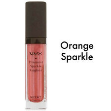 NYX Diamond Sparkle Lipgloss - 5 ml New Colour: Orange Sparkle