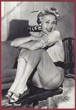 JANE POWELL 05 ATTRICE ACTRESS ACTRICE CINEMA MOVIE PEOPLE USA Cartolina FOTOGR.