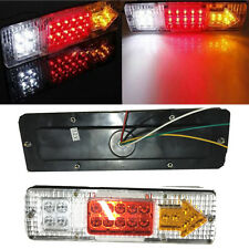 2pcs 19 LED Tail Light Car Truck Trailer Stop Rear Reverse Turn Indicator Lamp