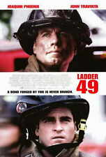 LADDER 49 Movie POSTER 27x40 John Travolta Joaquin Phoenix Jacinda Barrett