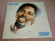 Billy Ocean Suddenly LP 1984 Jive Caribbean Queen Lucky Man Dancefloor