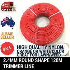 2.4MM 120M TRIMMER LINE WHIPPER SNIPPER CORD WIRE BRUSH CUTTER BRUSHCUTTER NYLON