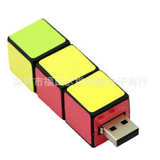 Ouonline Rubiks Cube Puzzle 16Gb Novelty USB Flash Drive Memory Stick Gift