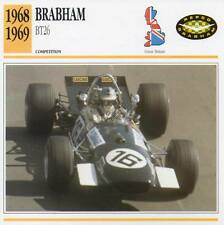 1968-1969 BRABHAM BT26 Racing Classic Car Photo/Info Maxi Card