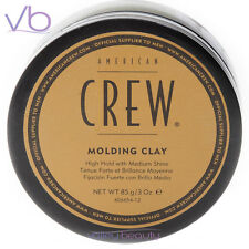 AMERICAN CREW Molding Clay 3oz High Hold Medium Shine Hair Shaping Puck For Men