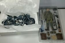 Dragon Models-Cyber Hobby 1/6 SCALE WW2 German Motorcycle Recon Jager Franz Mehl