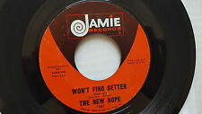 THE NEW HOPE - Won't Find Better / They Call it Love 1969 FOLK ROCK PSYCH Jamie