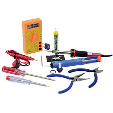 High Quality Soldering Iron Full Kit Stand Pump Lead Tip Multi Meter Screwdriver