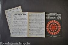Musica Leggera  Endrigo Girotondo intorno Mondo Fort Questo Amore Sempre 1966