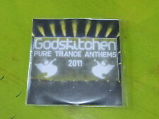 VARIOUS - GODSKITCHEN PURE TRANCE ANTHEMS 2011 !!!!!!!!! CD PROMO!
