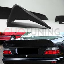 Mercedes Benz w124 sedan AMG style trunk spoiler 3 piece bootlip ducktail mb 4d