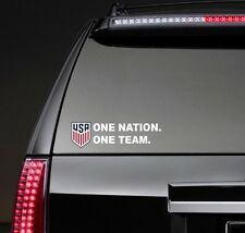 1 New Team USA Soccer Shield jersey Logo car Window vinyl sticker decal, futbol
