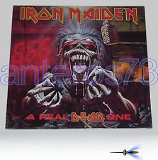 "IRON MAIDEN ""A REAL DEAD ONE"" RARE LP GATEFOLD '93 MADE IN ITALY - MINT"