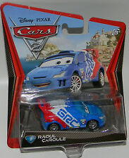 Disney Pixar Cars 2 RAOUL CAROULE #9 Diecast Vehicle HARD TO FIND New HTF