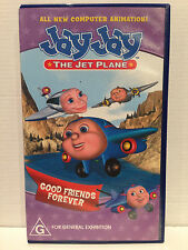 JAY JAY THE JET PLANE ~ GOOD FRIENDS FOREVER ~ VHS VIDEO ~ FREE POST
