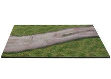 Diorama présentoir base route en terre / plinth dirt road - 1/43ème - #MR43I002