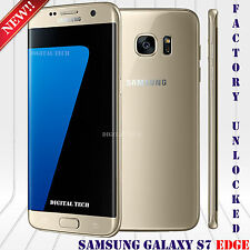"Samsung Galaxy S7 EDGE G935F 4G LTE Android 5.5"" 32GB OEM Unlocked Phone Gold"