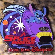 Disney Pin Stitch Space Mountain Hong Kong Disneyland Hkdl 2014