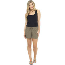 Ladies Summer Shorts Womens Hot Pants Lounge Beach Shorts Cool Cotton Sizes 8-22