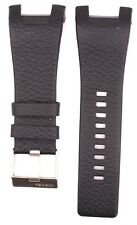 Compatible Diesel DZ1215 32mm Black Genuine Leather Watch Strap DSL147