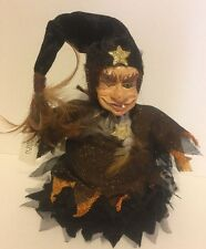 Katherine's Collection W Kleski Retired Halloween Witch Candy Container Doll