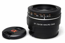 Sony DT 30mm f2.8 macro Sam sal-30m28