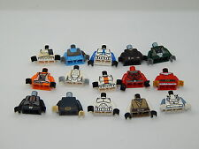 Lego Minifigure Lot of 15 Star Wars Torsos