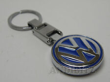 GIFT IDEA CHROME KEY CHAIN KEYRING VW GOLF POLO JETTA PASSAT LUPO FOX CAR SHARAN