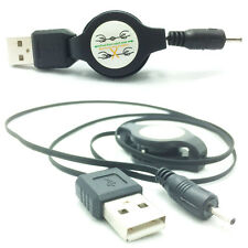 Retractable USB Charger Cable for Nokia Asha 201 / 205 / 210 / 302 / 305 / 306