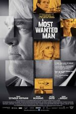 A MOST WANTED MAN MOVIE POSTER 2 Sided ORIGINAL 27x40 PHILIP SEYMOUR HOFFMAN