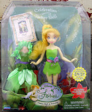"Disney Fairies Tinker Bell & Friends CELEBRATION TINKER BELL Fairy 8"" doll NIB"