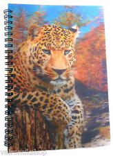LEOPARD BIG CAT 3D LENTICULAR A6 NOTEBOOK