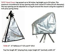 "Telescope Cover Set for 6"" - 8"" Reflector with Tripod set up ( 2 covers)"