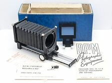 BPM B.P.M. Universal Macro/Close-Up Bellows + 35mm Slide Holder Nikon/Pentax etc
