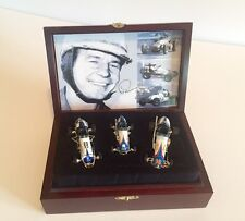 GMP Parnelli Jones Limited Edition 1/43rd 3 Car Set with Wooden Box & COA