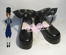 Rozen Maiden Souseiseki Black Halloween Cosplay Shoes H016