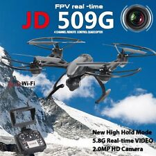 2MP HD camera JD509 FPV 2.4Ghz 4CH RC 6-Axis Quadcopter Drone with RTF UFO UAV
