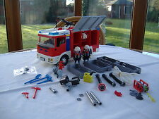 Playmobil Fire Engine with Flashing Lights (4821)