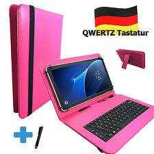Clavier allemand Housse-vido t99 3g phablet - 7 pouces tablet sac pink