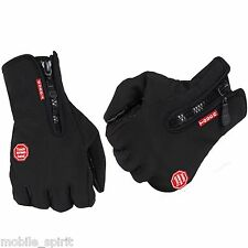 Waterproof Winter Warm Protection Bike Motorcycle Hiking Skiing Gloves Mittens