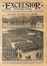 Parade General Lockvitzky Imperial Russian Army Grands Boulevard Paris WWI 1916