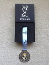 Authentic Real Madrid Champions League Final Lisbon 2014 Winners Medal Not Badge