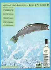 AIRONE985-PUBBLICITA'/ADVERTISING-1985- SANTA MARGHERITA - CHARDONNAY vers.B